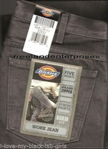 Mens Pants Dickies Denim Jeans ~Charcoal Grey~ Size 32 X 32 NWT ~ Regula... - $19.75