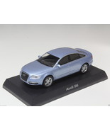 KYOSHO DIECAST CAR AUDI COLLECTION 2 S6 LIGHT BLUE 1/64 JAPAN - $8.99