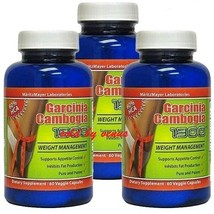* * 3  months supply- Garcinia Cambogia - 3 bottles (60 caps in each bot... - $24.00