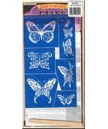 Rub 'n' Etch Glass Etching Stencils 2 packages-NIP - $10.00