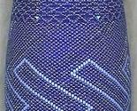 Beaded cobalt bottle  2  thumb155 crop