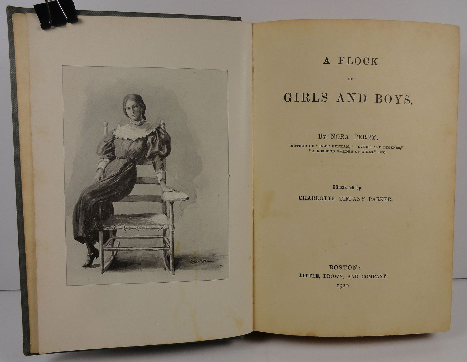 A Flock of Girls and Boys by Nora Perry 1920 Little, Brown