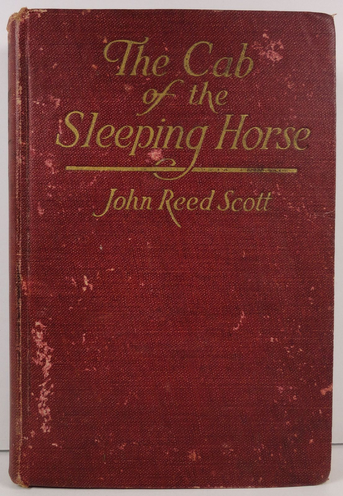 The Cab of the Sleeping Horse by John Reed Scott A. L. Burt