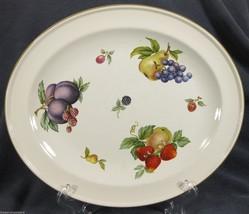 """Wedgwood Fruit Sprays Croft 11"""" Oval Serving Pl... - $32.49"""