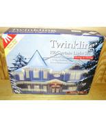 Holiday Time Twinkling White Christmas Lights Wedding Light 150Lights Wh... - $12.72