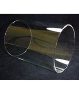 Cylinder Tube 4 9/16 X 6 in Glass Light Lamp Sh... - $42.95
