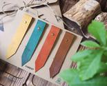 E leather bookmark gift set burnt sienna yellow dark green brown escorner pb101022 thumb155 crop