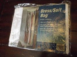 Dress/Suit bag NEW IN PACKAGE-Stores up to 12 garments, full Length 54X2... - $241,53 MXN