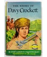 The Story of Davy Crockett by Enid LaMonte Meadowcroft HC/DJ - $4.99