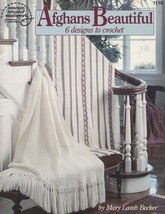 Afghans Beautiful, American School of Needlework Crochet Pattern Booklet... - $9.95