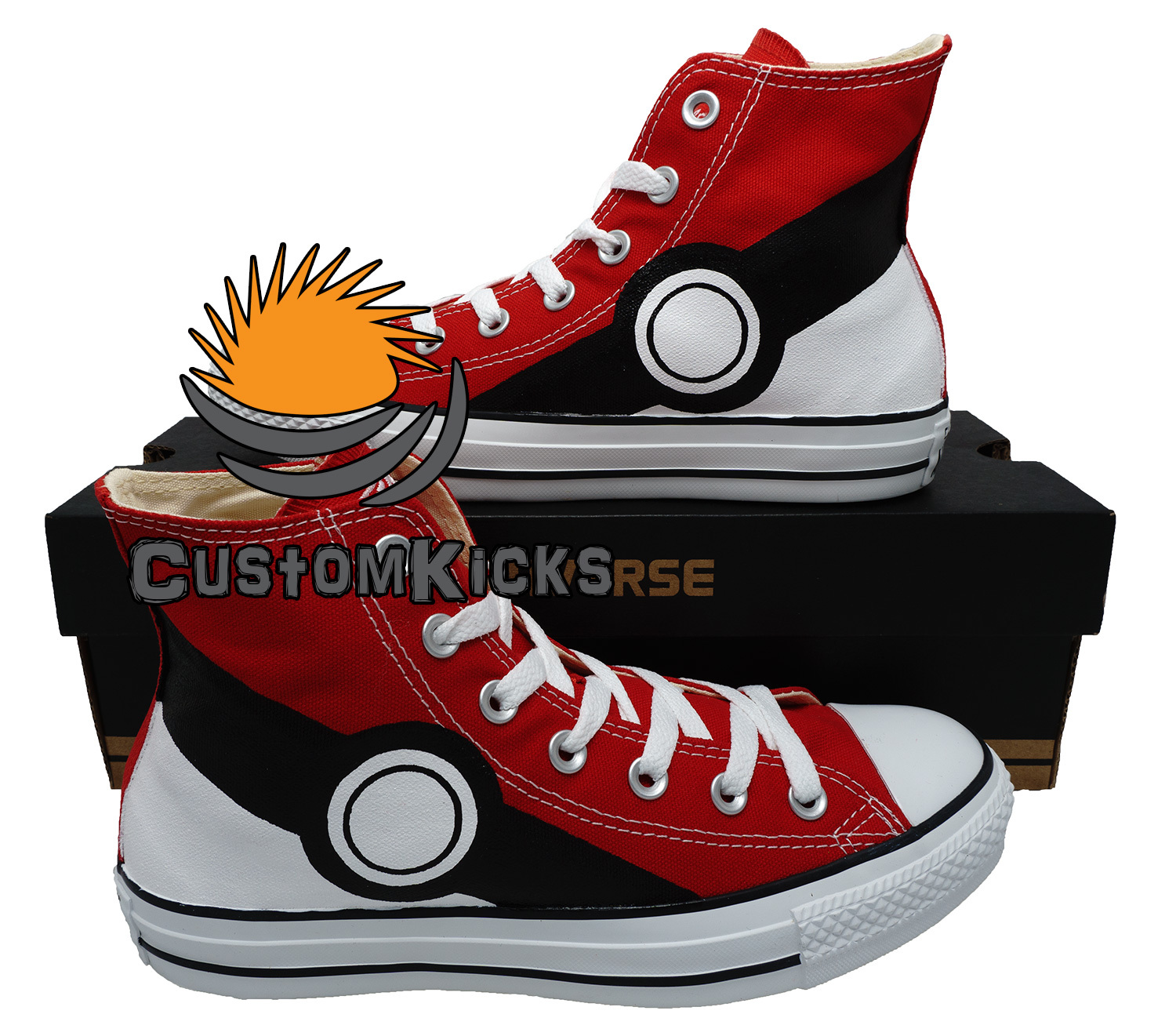 Painted converse sneakers, Pokemon, Pikachu, Handpainted shoes