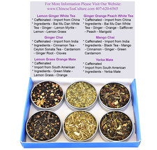 Tea Sampler - Mate - Chai - White Tea - Caffeinated - Gift Box - Tea - L... - $28.88