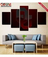Oklahoma Sooners Wall Art Painting Canvas Home Decor Poster Print HD - $30.00+