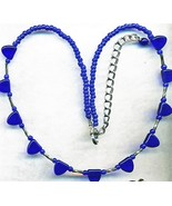 Cobalt Blue Necklace 2 - $3.35