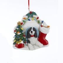 Dachshund Red in Heart w/Dangle Bone Ornament - $11.95