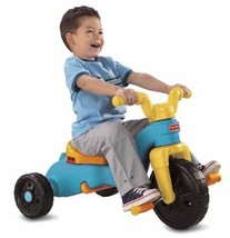 Fisher-Price Rock Roll 'n Ride Trike 1970-Now Ride-Ons Tricycles Outdoor... - $89.71
