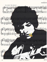 Art N Wordz Bob Dylan Guitar Original Music She... - $21.00
