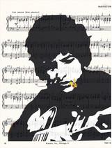 Art N Wordz Bob Dylan Guitar Original Music She... - $21.00