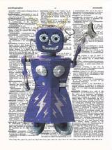 Art N Wordz FemBot Original Dictionary Sheet Wa... - $21.00