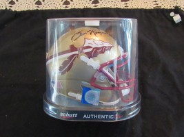 BURT REYNOLDS ACTOR SIGNED AUTO FLORIDA STATE SEMINOLES NEW MINI HELMET ... - $197.99