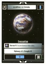Star Trek CCG - Evacuation - $0.99