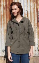 Vintage Women's F2 Austrian jacket coat surplus military retro combat as... - $22.00