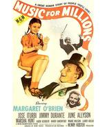 Music For Millions - 1945 - Movie Posters - $9.99+