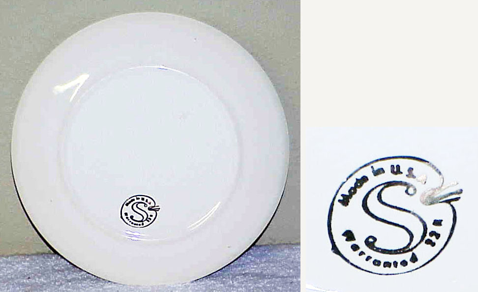 Vintage Souvenir Plate - MISSISSIPPI - The Magnolia State