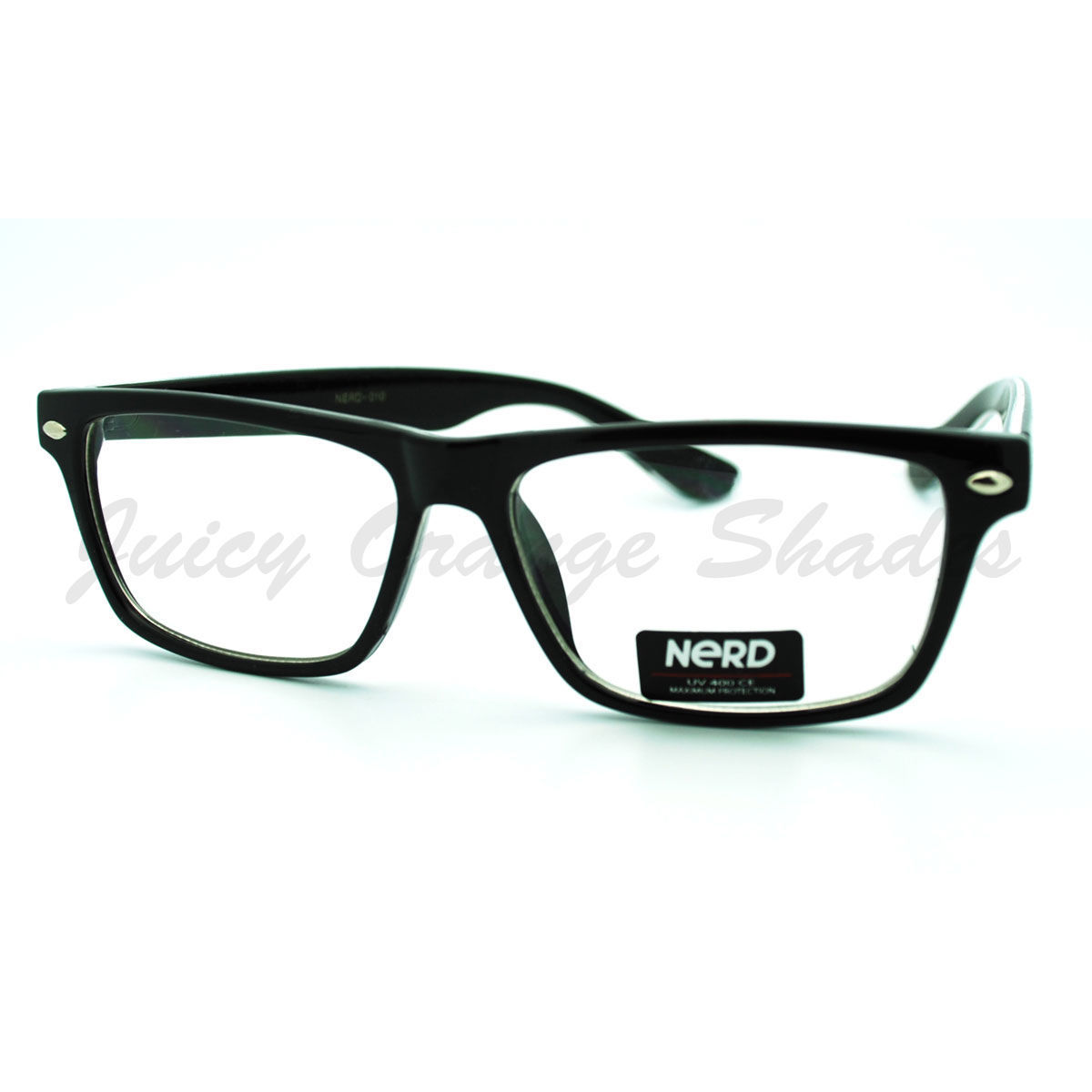 Clear Lens Glasses Rectangular Nerdy Smart Look Optical Frame