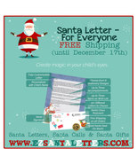 Santa Letter - Letter From Santa For Everyone - $8.99