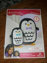 *NIB American Girl Doll Crafts - Sew & Stuff Kit ( penguins) Sealed Box. - $11.87