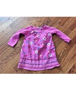 Children's Place Toddler Girls Pink Long Sleeve Floral Spring Dress Sz 2... - $11.29