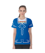 Link Tunic Sword Breath of the Wild Womens T Shirt XS-3XL - MADE TO ORDER - $28.99+