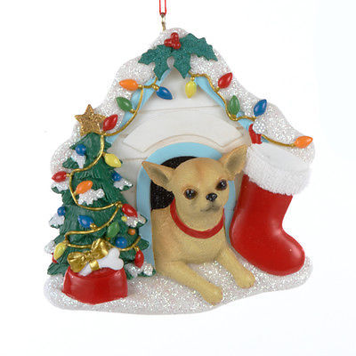 Primary image for Chihuahua in Dog House Ornament