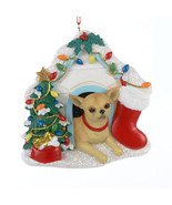 Chihuahua in Dog House Ornament - $12.95