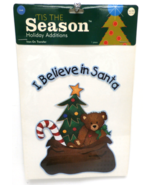 """'Tis the Season Holiday Additions Iron-On Transfer """"I Believe in Santa"""" - $2.50"""
