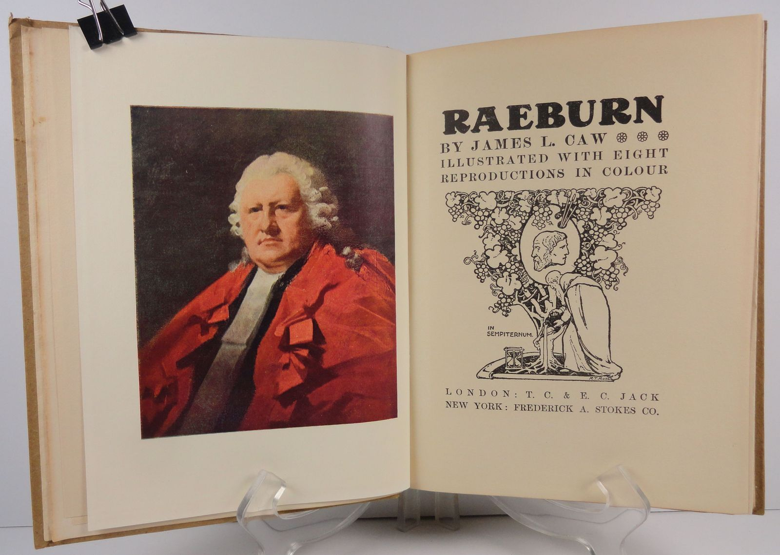 Raeburn Masterpieces in Colour by James L. Caw
