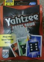 Yahtzee Hands Down Card Game NEW  - $6.75