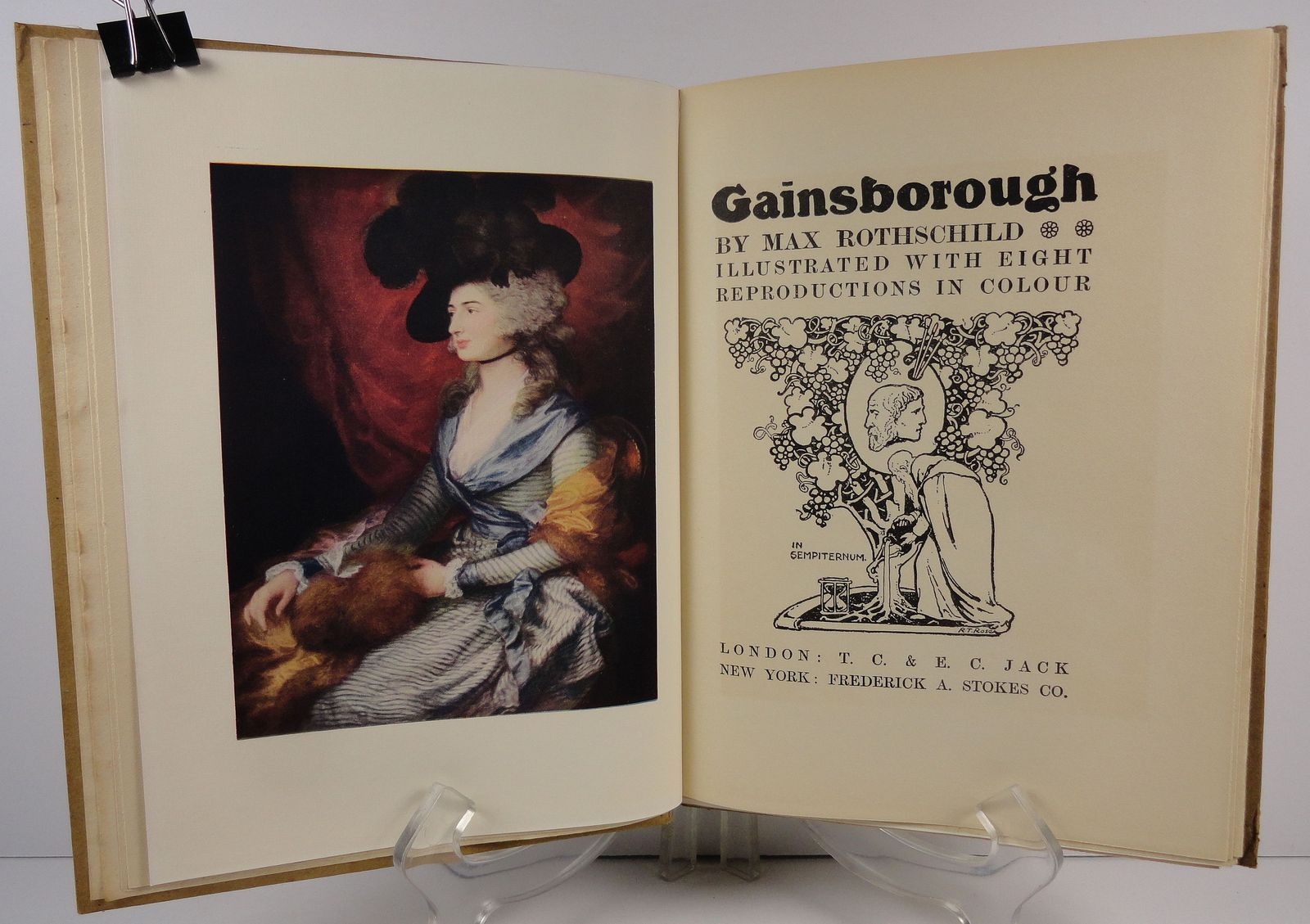 Gainsborough Masterpieces in Colour by Max Rothschild