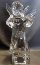 Set of 3  Mikasa Crystal Angels Playing Violin/ Mandolin/Harp - $30.00