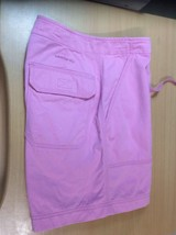 Lauren by Ralph Lauren Women sz 4 PKT Drawstring Causal Shorts Pink - $9.95