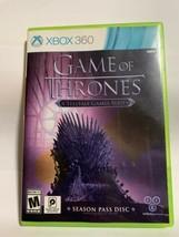 Game of Thrones: Season Pass Disc (Microsoft Xbox 360, 2015) *MINT Condi... - $6.70