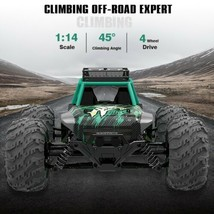 4WD RC Monster Truck Car Off-Road Vehicle 2.4G Remote Control Crawler Car Toys - $87.52