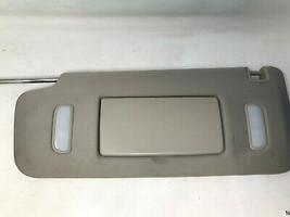 2007-2013 Chevrolet Silverado 1500 Driver Sun Visor Illuminated Beige OEM N40571 - $53.99