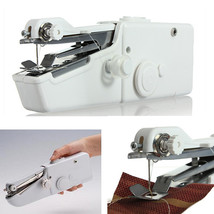 Portable Mini Electric Handheld Sewing Machine Travel Household Cordless... - $25.00