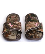 Under Armour Ignite VII Realtree Camo Slide Sandals Youth Girl's 4 NWT - $39.59
