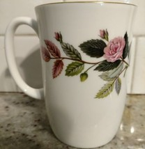 "Wedgwood HATHAWAY ROSE Mug 4"" (multiple available) - $39.74"