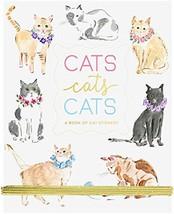 Beth Briggs Collection Fun Sticker Book Pad, Cats, 5x7 Inches