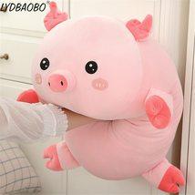 90cm Giant Cute Panda&Pig Animal Plush Baby Soft Stuffed Sofa Pillow Hand Warm D image 6