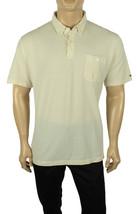New Tommy Hilfiger Custom Fit Hartford Striped Light Beige Polo Shirt Xl - $27.99
